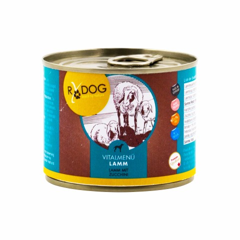 RyDog Vitalmenü Lamm 200g (6 Stück)