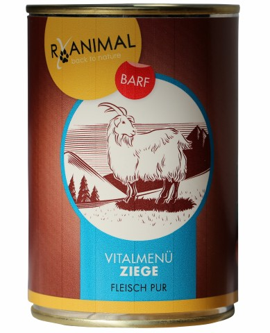 RyAnimal Pure Goat (Ziege-pur) 400g (6 Piece)